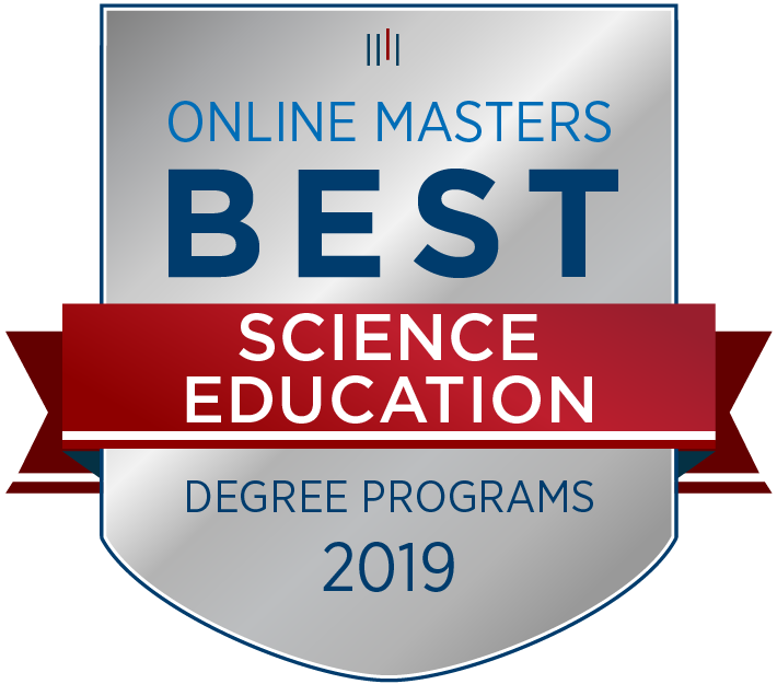 Master of Natural Sciences Education ranked No. 7 for best online science education graduate programs