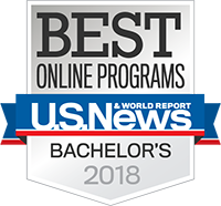 Best Online Bachelor's Programs of 2018 Badge